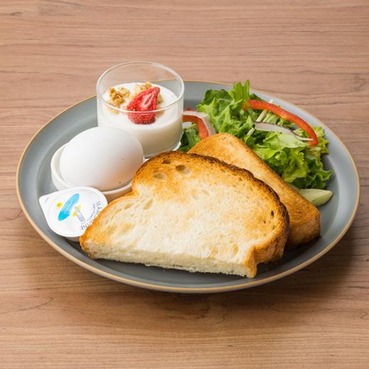 湯種トースト&ゆで卵